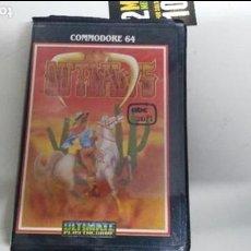 Videojuegos y Consolas: ANTIGUO JUEGO COMMODORE 64 OUTLAWS. Lote 103473195