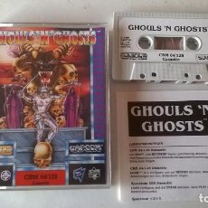 Videojuegos y Consolas: GHOULS N GHOSTS PARA COMMODORE 64 COMO NUEVO EN MUY BUEN ESTADO SIN USO!!. Lote 103980707