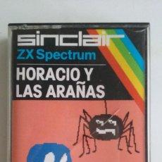 Videojuegos y Consolas: JUEGO SINCLAIR ZX SPECTRUM/HORACIO Y LAS ARAÑAS.. Lote 104015295