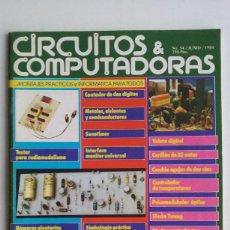 Videojuegos y Consolas: REVISTA CIRCUITO IMPRESO & COMPUTADORAS/COMMODORE/SPECTRUM/AÑOS 80.. Lote 104018255