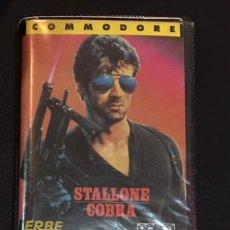 Videogiochi e Consoli: JUEGO DE ORDENADOR COMMODORE STALLONE COBRA ERBE. Lote 105070091