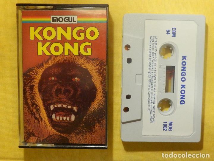 JUEGO PARA COMODORE 64 - CMB 64 - C64 - VIC-20 - KONGO KONG - MOGUL (Juguetes - Videojuegos y Consolas - Commodore)