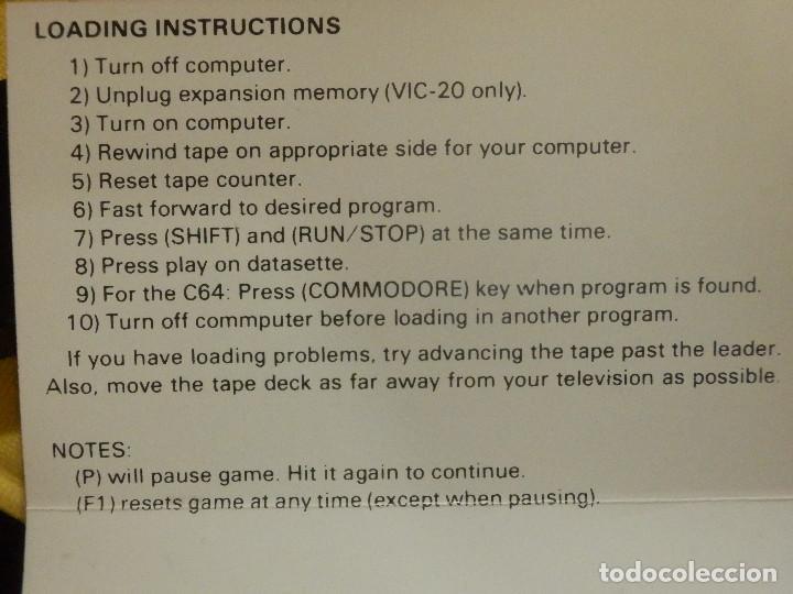 Videojuegos y Consolas: JUEGO PARA COMODORE 64 - CMB 64 - C64 - VIC-20 - KONGO KONG - MOGUL - Foto 2 - 106845727