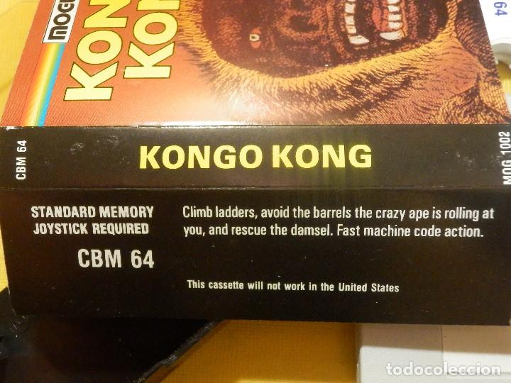 Videojuegos y Consolas: JUEGO PARA COMODORE 64 - CMB 64 - C64 - VIC-20 - KONGO KONG - MOGUL - Foto 3 - 106845727