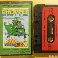 Videojuegos y Consolas: JUEGO PARA COMODORE - VIC-20 - CHOPPER - SUMLOCK - T. FLANDERS - 1982. Lote 106848343