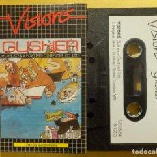 Videojuegos y Consolas: JUEGO PARA COMODORE 64 - CMB 64 - C64 - VIC-20 - GUSHER - VISIONS - 1983. Lote 106853487