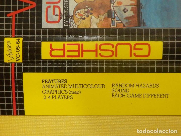 Videojuegos y Consolas: JUEGO PARA COMODORE 64 - CMB 64 - C64 - VIC-20 - GUSHER - VISIONS - 1983 - Foto 3 - 106853487