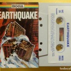 Videojuegos y Consolas: JUEGO PARA COMODORE 64 - CMB 64 - C64 - VIC-20 - EARTHQUAKE - MOGUL - 1983. Lote 106854231