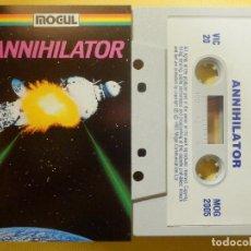 Videojuegos y Consolas: JUEGO PARA COMODORE 64 - CMB 64 - C64 - VIC-20 - ANNIHILATOR - MOGUL - 1983. Lote 106854483
