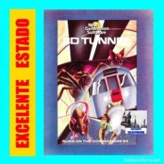 Videojuegos y Consolas: 3D - TUNNEL - JUEGO PARA COMMODORE 64 - MIND GAMES ESPAÑA - EXCELENTE - MUY RARO. Lote 107835543