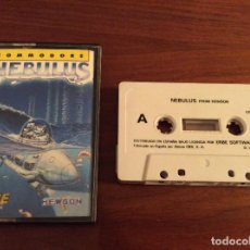Videojuegos y Consolas: NEBULUS - HEWSON - ERBE - COMMODORE 64 C64 - EDICIÓN ESPAÑOLA. Lote 108311751