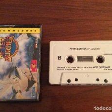 Videojuegos y Consolas: AFTERBURNER AFTER BURNER - ERBE - COMMODORE 64 C64 - EDICIÓN ESPAÑOLA. Lote 108312003