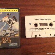Videojuegos y Consolas: JUEGO SHORT CIRCUIT CORTOCIRCUITO - COMMODORE 64 C64 - MCM / ERBE - EDICIÓN ESPAÑOLA. Lote 108312767