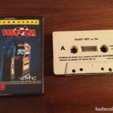 Videojuegos y Consolas: JUEGO BUGGY BOY - ELITE / TATSUMI - COMMODORE 64 C64 - MCM / ERBE - EDICIÓN ESPAÑOLA. Lote 108312831