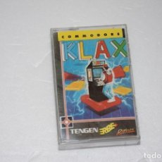 Videojuegos y Consolas: KLAX COMMODORE - ERBE - JUEGO ARCADE DE 1990 TENGEN. Lote 108365039
