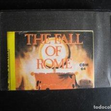 Videojuegos y Consolas: JUEGO VIDEOJUEGO COMMODORE - THE FALL OF ROME. Lote 108410799