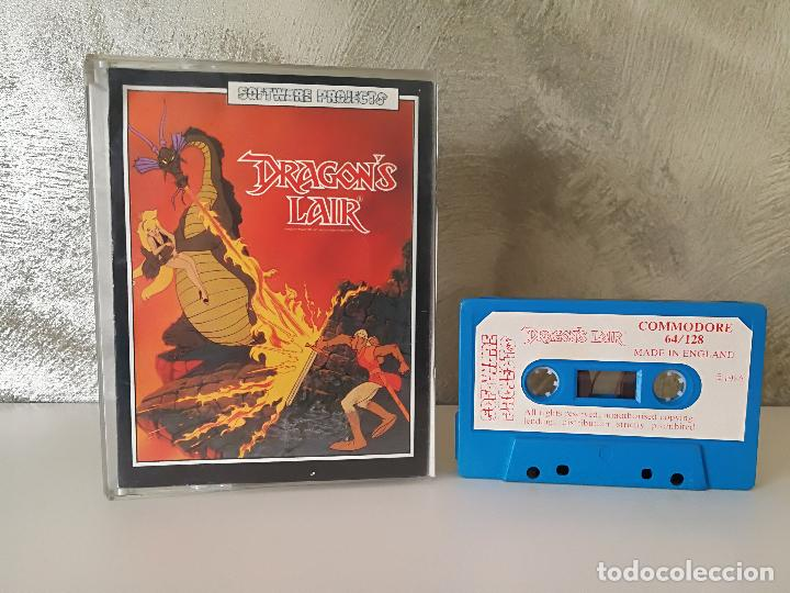 DRAGONS LAIR COMMODORE 64 128