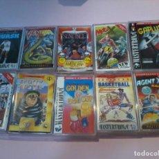 Videojuegos y Consolas: LOTE DE 10 JUEGOS PARA COMMODORE NUEVOS . Lote 110184959