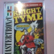 Videojuegos y Consolas: JUEGO CASSETE COMMODORE KNIGHT TYME MAD GAMES MASTERTRONIC.. Lote 110193879