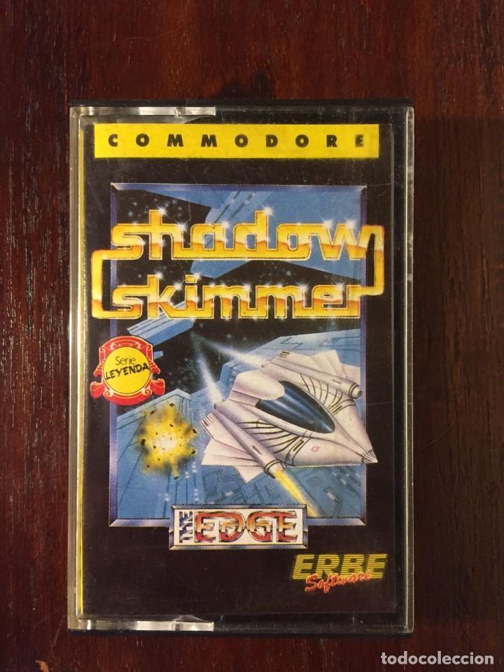 SHADOW SKIMMER - CINTA CASSETTE JUEGO COMMODORE 64 SERIE LEYENDA. ERBE-EDGE-SOFTWARE (Juguetes - Videojuegos y Consolas - Commodore)