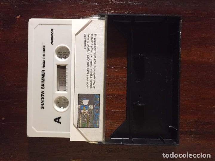 Videojuegos y Consolas: SHADOW SKIMMER - CINTA CASSETTE JUEGO COMMODORE 64 SERIE LEYENDA. ERBE-EDGE-SOFTWARE - Foto 2 - 110685687