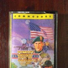 Videojuegos y Consolas: COMBAT SCHOOL - CINTA CASSETTE JUEGO COMMODORE 64 ERBE SOFTWARE-KONAMI-OCEAN-1987. Lote 110739831