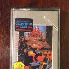 Videojuegos y Consolas: CINTA CASSETTE JUEGOS COMMODORE 64 - COMPUTER CLUB Nº 1- 10 JUEGOS Y PROGRAMAS - COLECCIONABLE 1985. Lote 110741347