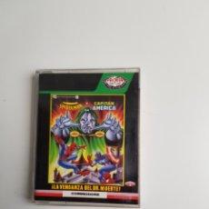 Videojuegos y Consolas: DR DOOM'S REVENGE (SPIDERMAN Y EL CAPITÁN AMÉRICA) COMMODORE 64. Lote 112512279