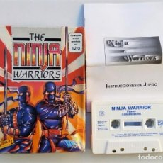 Videojuegos y Consolas: JUEGO COMMODORE 64 NINJA WARRIORS - CAJA CARTÓN EDICIÓN ESPAÑOLA . Lote 113187195