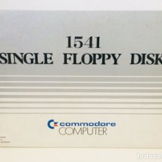 Videojuegos y Consolas: COMMODORE 1541 SINGLE FLOPPY DISK. Lote 113562594