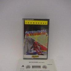 Videojuegos y Consolas: JUEGO COMMODORE METROCROSS. Lote 115237503