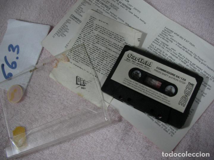 Videojuegos y Consolas: ANTIGUO JUEGO COMMODRE - GARFIELD - Foto 2 - 116382459