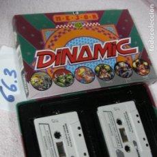 Videojuegos y Consolas: ANTIGUO JUEGO COMMODRE - LO MEJOR DE DINAMIC - DOBLE CINTA JUEGOS DE MAS EXITO. Lote 116382627