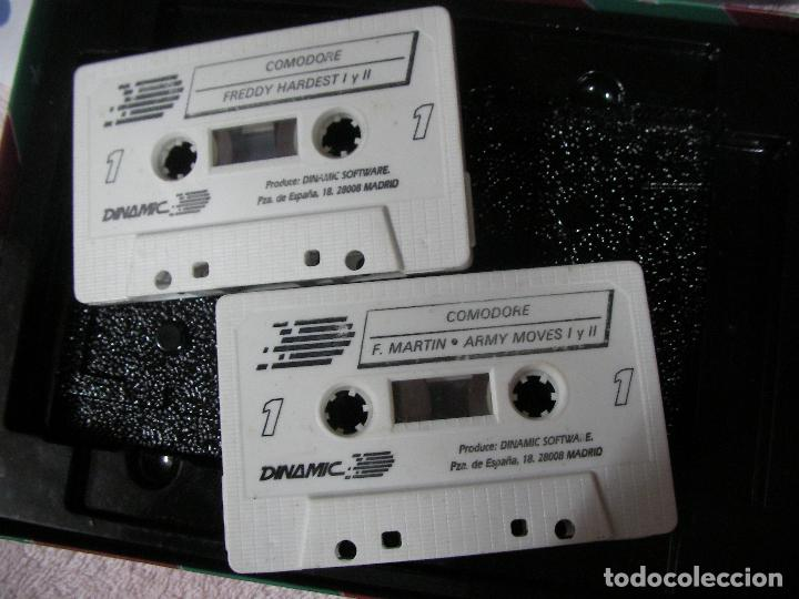 Videojuegos y Consolas: ANTIGUO JUEGO COMMODRE - LO MEJOR DE DINAMIC - DOBLE CINTA JUEGOS DE MAS EXITO - Foto 2 - 116382627
