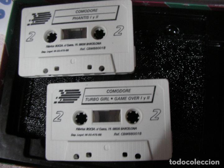 Videojuegos y Consolas: ANTIGUO JUEGO COMMODRE - LO MEJOR DE DINAMIC - DOBLE CINTA JUEGOS DE MAS EXITO - Foto 3 - 116382627