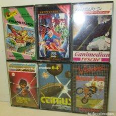 Videojuegos y Consolas: LOTE 6 JUEGOS COMMODORE,FALCON PATROL,ICTINIUS,DAREDEVIL DENNIS,MAGIC CARPET,TERRORISTA NEOCLIPS,.... Lote 116619164
