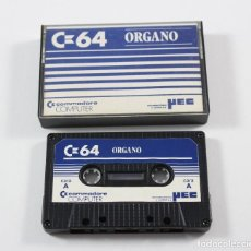 Videojuegos y Consolas: COMMODORE 64 CASSETTE - ORGANO. Lote 118468727