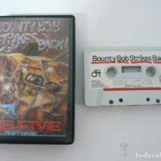 Videojuegos y Consolas: BOUNTY BOB STRIKES BACK / C64 / COMMODORE / CASSETTE / JUEGO RETRO VINTAGE EN CINTA. Lote 121141559