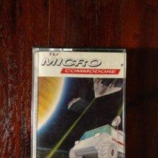 Videojuegos y Consolas: GANIMEDIAN RESCUE CINTA CASSETTE JUEGO COMMODORE 64 - TU MICRO COMMODORE 1985. Lote 123393051