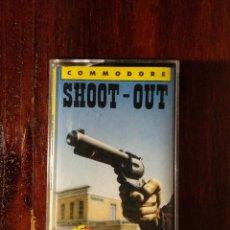 Videojuegos y Consolas: SHOOT-OUT CINTA CASSETTE JUEGO COMMODORE 64 - ERBE 1988. Lote 123393223