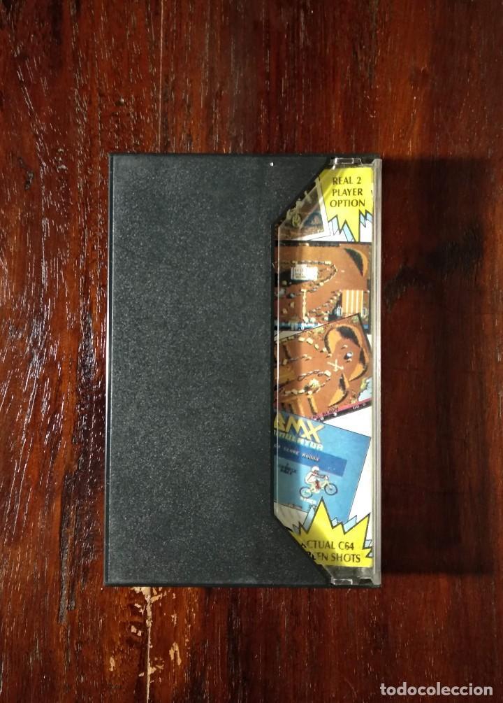 Videojuegos y Consolas: BMX SIMULATOR CINTA CASSETTE JUEGO COMMODORE 64 - CODE MASTER 1986 - Foto 3 - 123393511