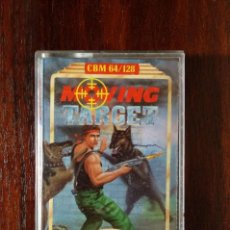 Videojuegos y Consolas: MOVING TARGET CINTA CASSETTE JUEGO COMMODORE 64 - PLAYERS PREMIER 1989. Lote 123393667