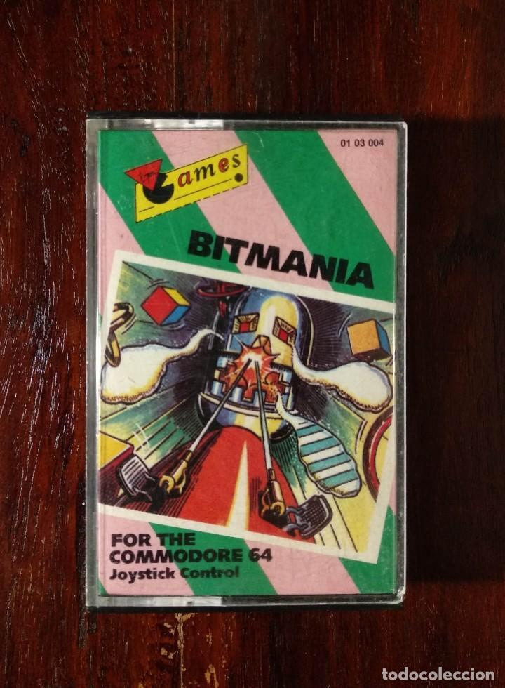 BITMANIA CINTA CASSETTE JUEGO COMMODORE 64 - GAMES 1985 (Juguetes - Videojuegos y Consolas - Commodore)