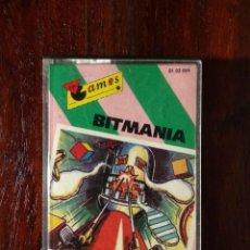 Videojuegos y Consolas: BITMANIA CINTA CASSETTE JUEGO COMMODORE 64 - GAMES 1985. Lote 123393799