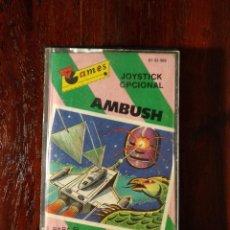 Videojuegos y Consolas: AMBUSH CINTA CASSETTE JUEGO COMMODORE 64 - GAMES 1984. Lote 123393891