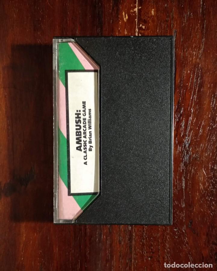 Videojuegos y Consolas: AMBUSH CINTA CASSETTE JUEGO COMMODORE 64 - GAMES 1984 - Foto 3 - 123393891