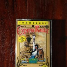 Videojuegos y Consolas: EXPRESS RAIDER CINTA CASSETTE JUEGO COMMODORE 64 - ERBE 1987. Lote 123394151