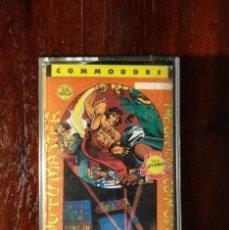 Videojuegos y Consolas: KUNG-FU MASTER CINTA CASSETTE JUEGO COMMODORE 64 - ERBE 1986 - SERIE LEYENDA. Lote 123394355