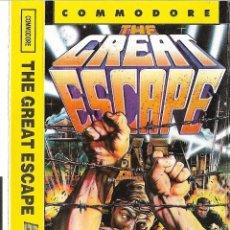 Videojuegos y Consolas: COMMODORE - JUEGO THE GREAT ESCAPE - VER FOTOS. Lote 126274115
