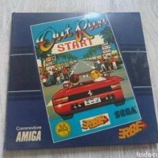 Videojuegos y Consolas: OUT RUN VIDEOJUEGO COMMODORE AMIGA 1986. Lote 127186188